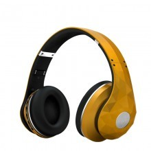 OEM-BL156 Metal bluetooth headphone UV painting wireless bluetooth headphone with SD card micro