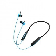 OEM-BL166 Stereo neck hanging magnetic head wireless Bluetooth earphone