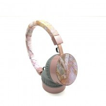 OEM-BL171 Best quality stereo sound wholesale silent disco headphone with metal earphone
