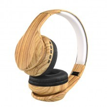 OEM-BL196 Custom Wood Grain BT Wireless Headphones