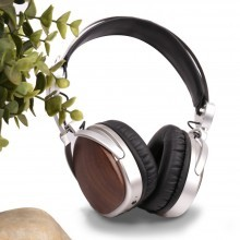 OEM-BL206 Hot selling Manufacture natural wood wireless over-ear headphone
