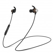 OEM-BL208 Magnetic Wireless Stereo Wood IPX5 In-Ear Headphone with HD Mic