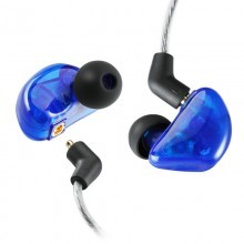 OEM-BL220 ABS ear bud colorfully musician with MMCX bluetooth cable